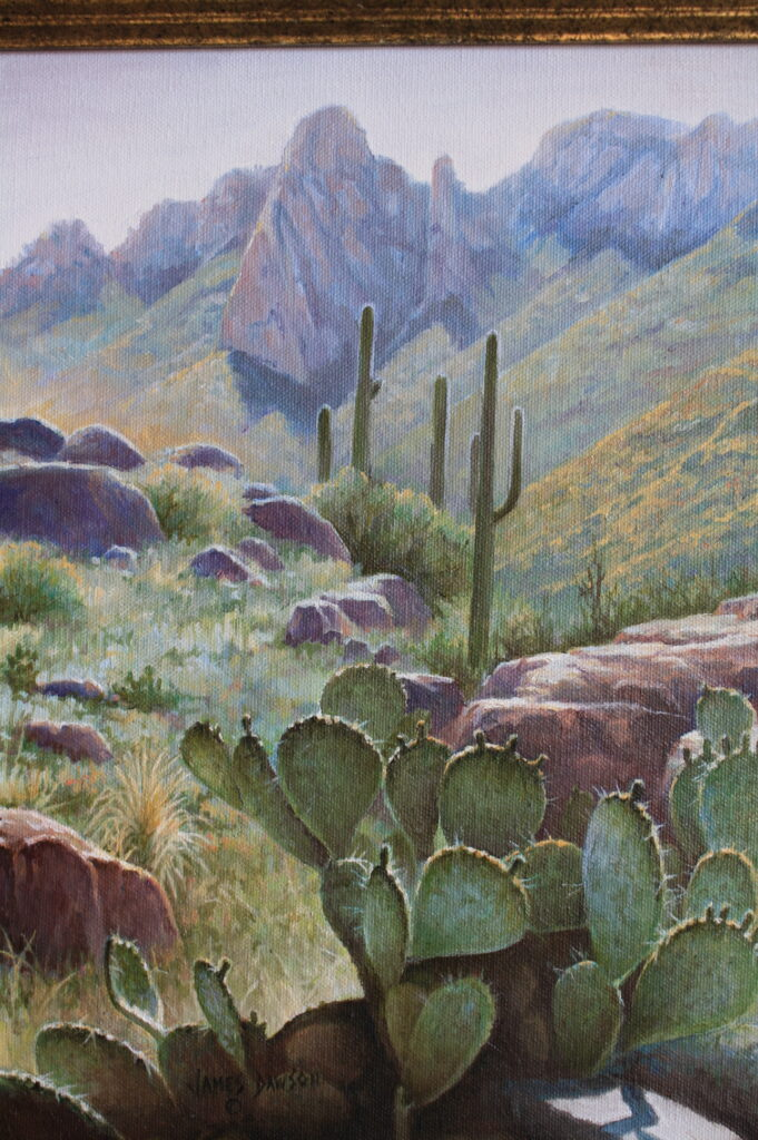 Alamo Trail     Original sold                                                               11 x 14″ Giclee prints available